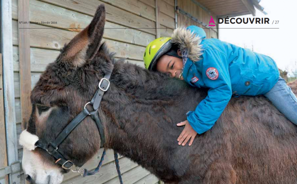 Ces Ânes qui soignent 05/01/2016 – Côtes d'Amor Magazine