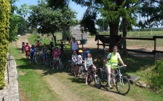 Le mois de juillet à la Ferme de Min Guen en bretagne dans les côtes d'armor - ballade à vélo