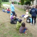 bretagne accueil mini camp à la ferme